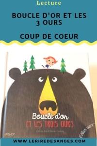 Boucle d or et les 3 ours editions elan vert