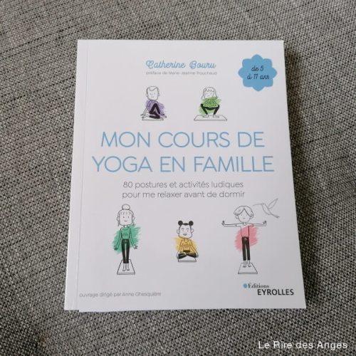mon cours de yoga en famille catherine bouru