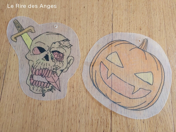 plastique fou halloween diy