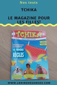 tchika magazine pour fille de 7 à 12 ans