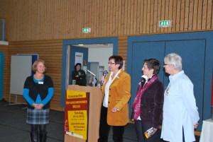 Eröffnung durch die Veranstalterinnen Frau Dees, Frau Albert, Frau Messer und Frau Kölle