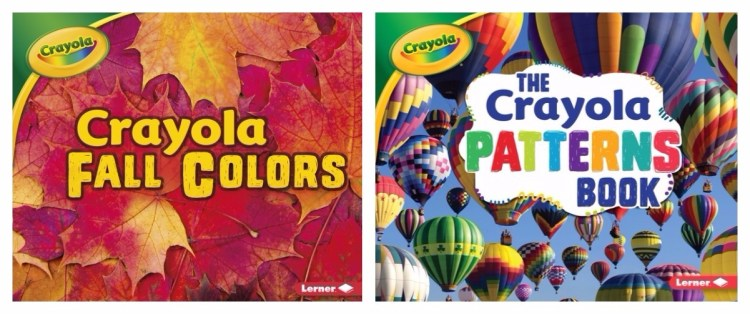 Crayola Fall Colors and Crayola Patterns Books