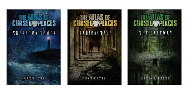 The Atlas of Cursed Places Darby Creek series for reluctant readers