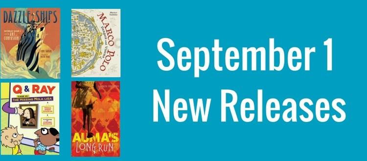 September 1 new releases