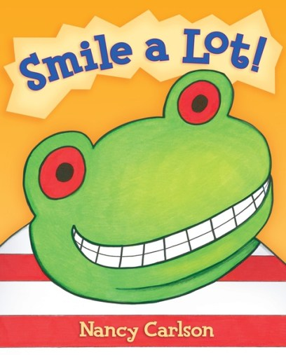 Smile a Lot! book for National Reading Day 2018