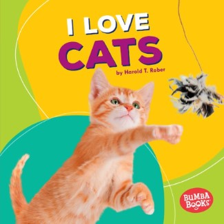 pet books for young readers: I Love Cats