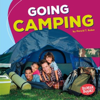 Going Camping cover - quiet books for kids