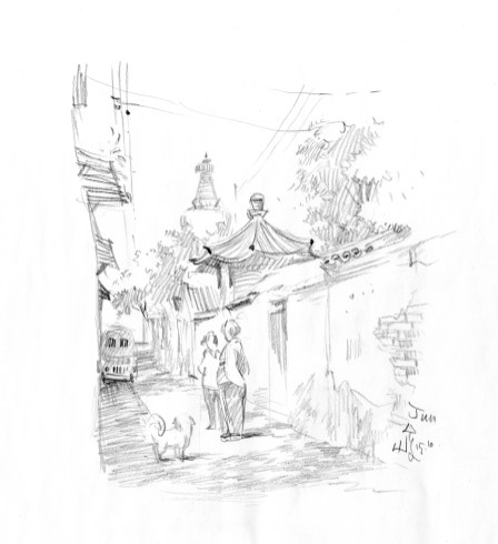 My Beijing sketch