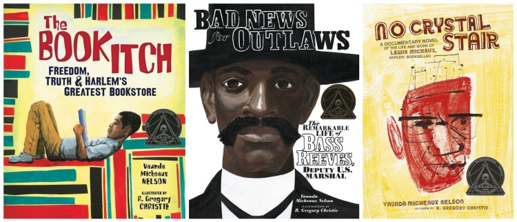 The Book Itch, Bad News for Outlaws, No Crystal Stair
