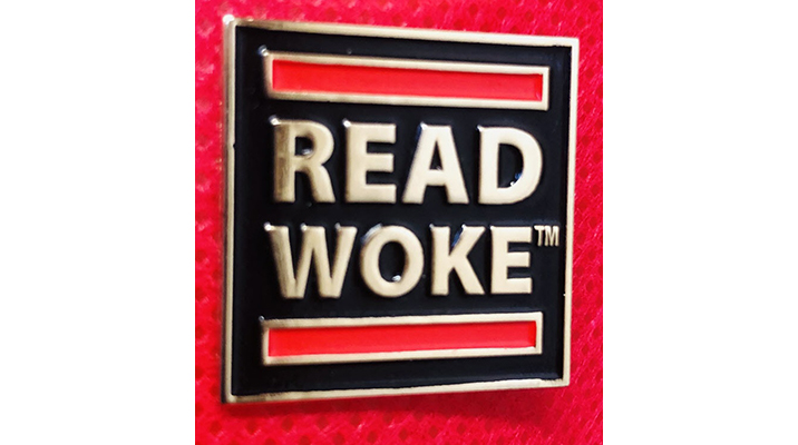 Read Woke Pin