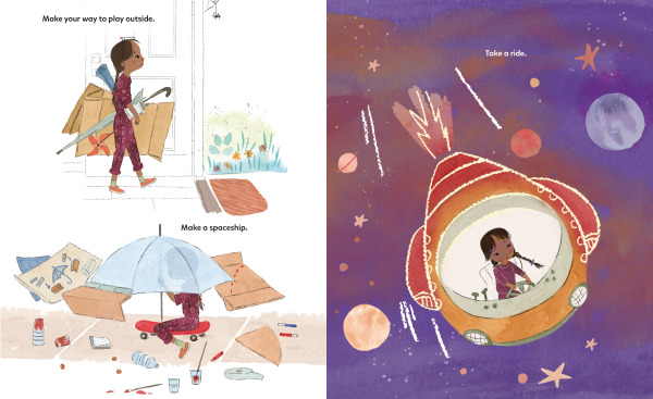 Spread from Be a Maker