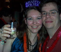 Tracey and Tom.  She looks pretty!