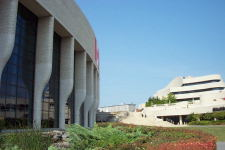 An outside view of the Museum of Civilization. August 2002