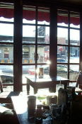 Out the window from brunch.  The warm sun was great.