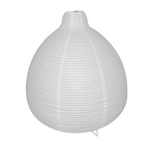 Lampe A Poser Paz En Papier Blanc Culot E14 Garantie 1 An Leroy Merlin Maroc