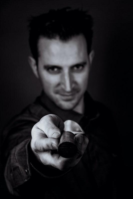 Nicolas Guiet chef et son Couteau - Photo de Paul stefanaggi