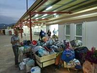Fvrier 2012 Le Passage De La Frontire Isralienne Aprs