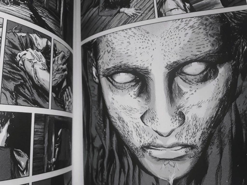 Le visage de Nabby - La couleur tombée du ciel - Gou Tanabe - les-carnets-dystopiques.fr