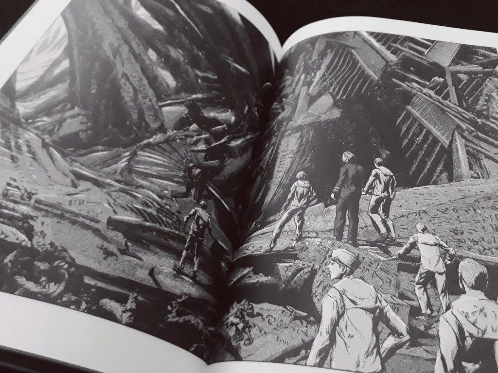R'lyeh - Gou tanabe - les-carnets-dystopiques.fr