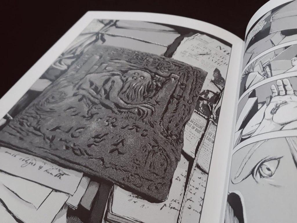 Tablette argile Cthulhu - Gou Tanabe - les-carnets-dystopiques.fr