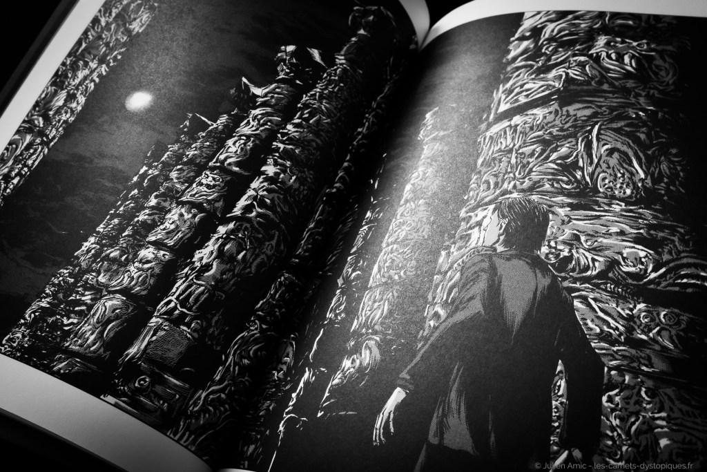 Azathoth - Celui qui hantait les ténèbres - Gou Tanabe - les-carnets-dystopiques.fr - Julien Amic