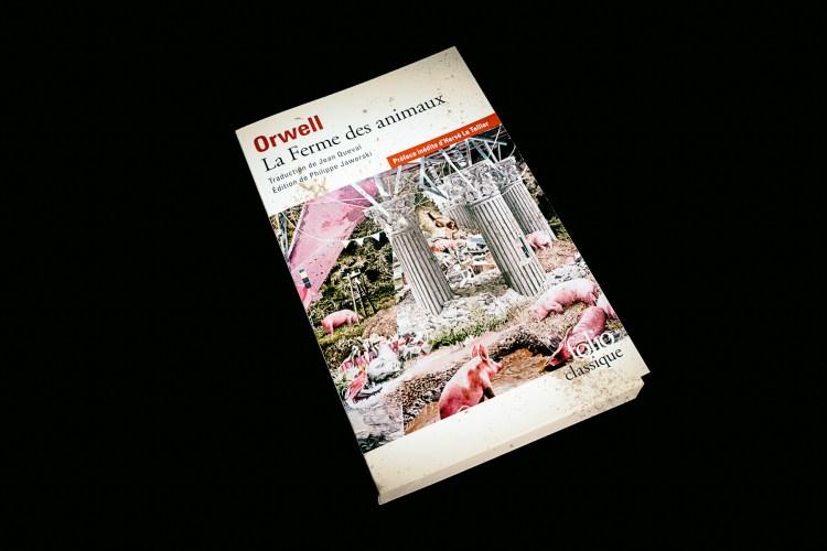 La ferme des animaux - George Orwell - Julien Amic - les-carnets-dystopiques.fr