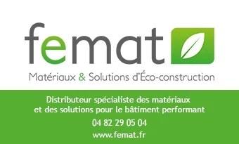 Femat : distributeur de matériaux et de solutions pour le bâtiment performant