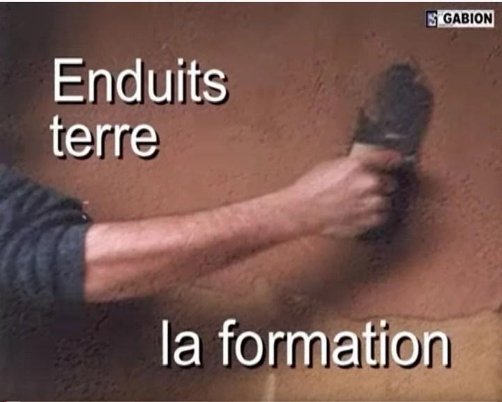 Gabion : Enduits terre