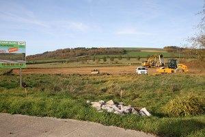 construction d'un atelier neuf à fain les montbardois pour les Charpentiers montbardois à Montbard