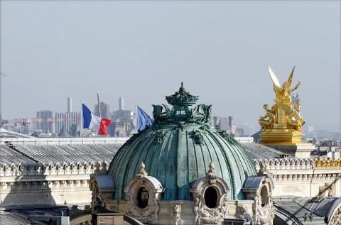 les toits de l'Opéra de Paris