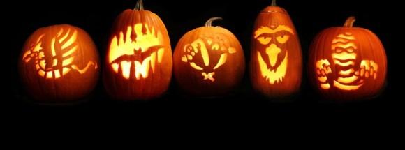 Halloween-citrouilles-photo de couverture journal Facebook