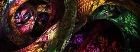 Abstrait-Photo de couverture journal Facebook