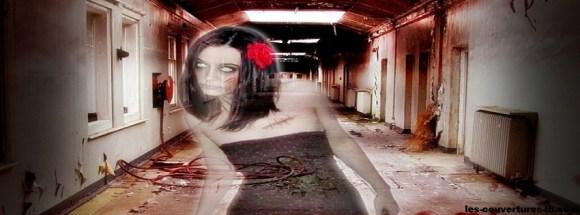 femme fantôme - Photo de couverture journal Facebook