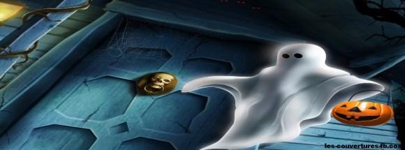 fantome dessin - Photo de couverture journal Facebook