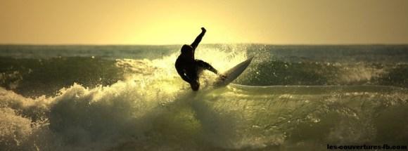 Surf-photo de couverture journal facebook