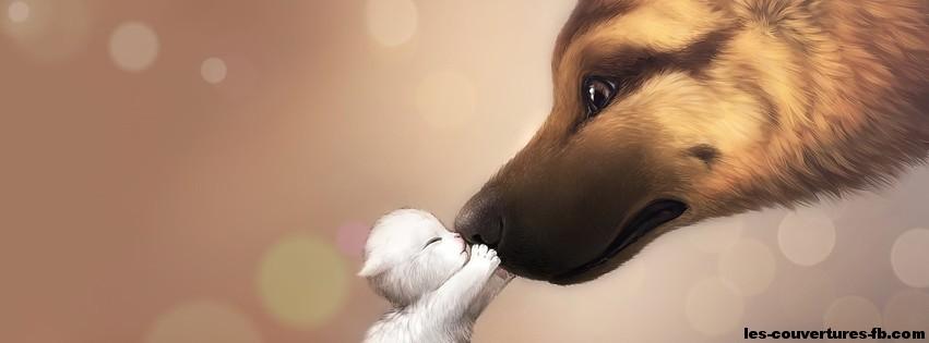 baiser-photo de couverture journal facebook