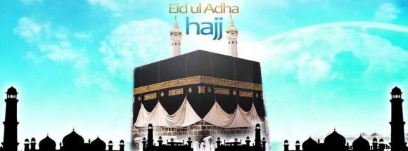 eid adha Hajj - Photo de couverture journal Facebook
