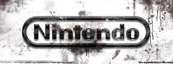Nintendo -Photo de couverture journal Facebook