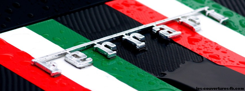couleur ferrari italie-Photo de couverture journal Facebook