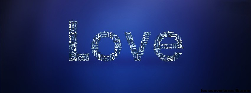 Love en mots - photo de couverture journal facebook