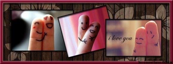 love-moments de doigts - photo de couverture-journal facebook