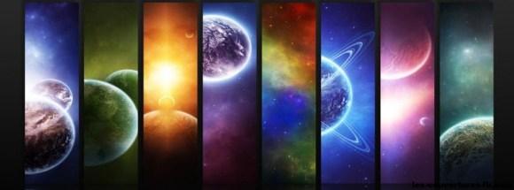 Arce en ciel de l'espace -Photo de couverture journal Facebook