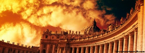 Le vatican-Photo de couverture journal Facebook