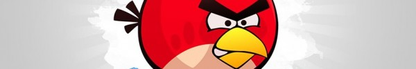 Angry Birds loiseau en photo de couverture