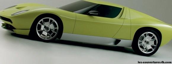 Lamborghini Miura Concept Photo Facebook