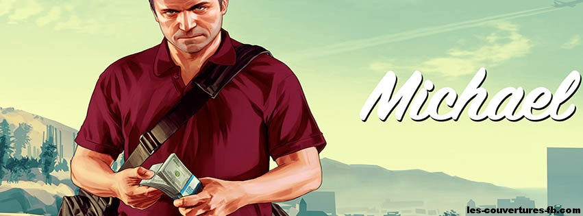 Couverture Facebook Michael GTA 5