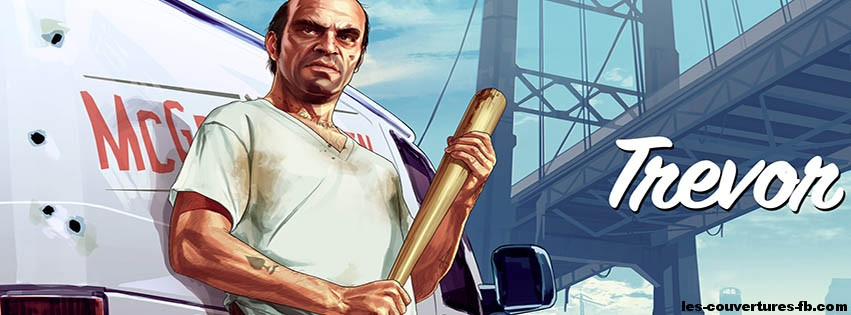 Couverture Facebook Trevor GTA 5