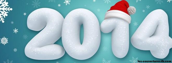 2014 et bonnet de noel