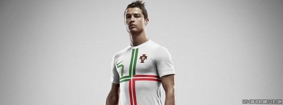 Cristiano Ronaldo EURO 2016 - Portugal - Couverture Facebook