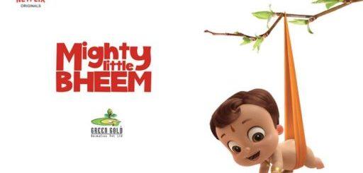 Affiche de la nouvelle série Netiflix Mighty the little Bheem